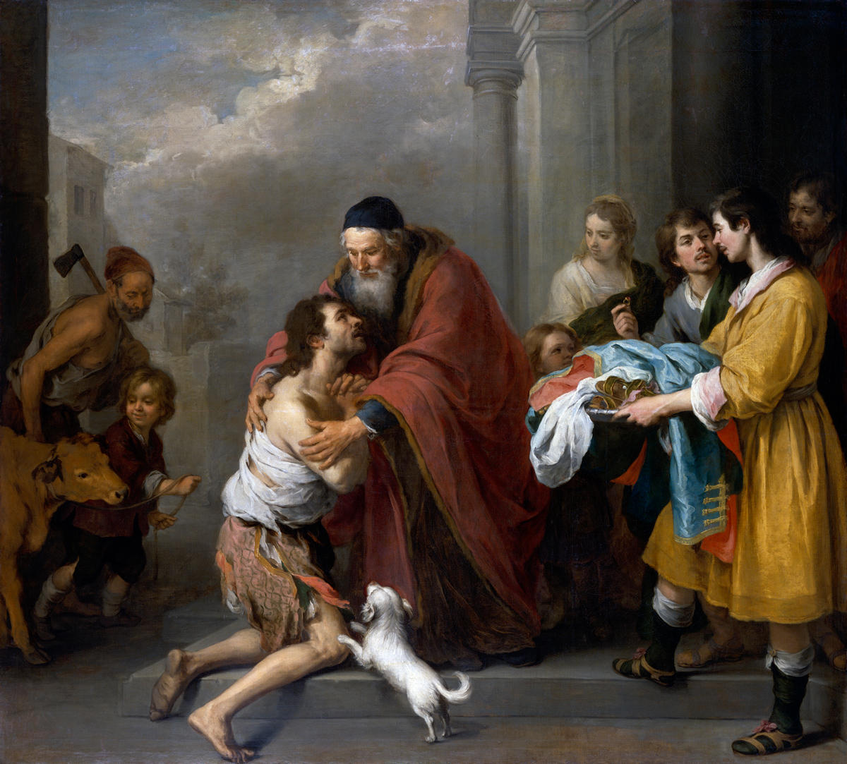 Painting of the Return of the Prodigal Son