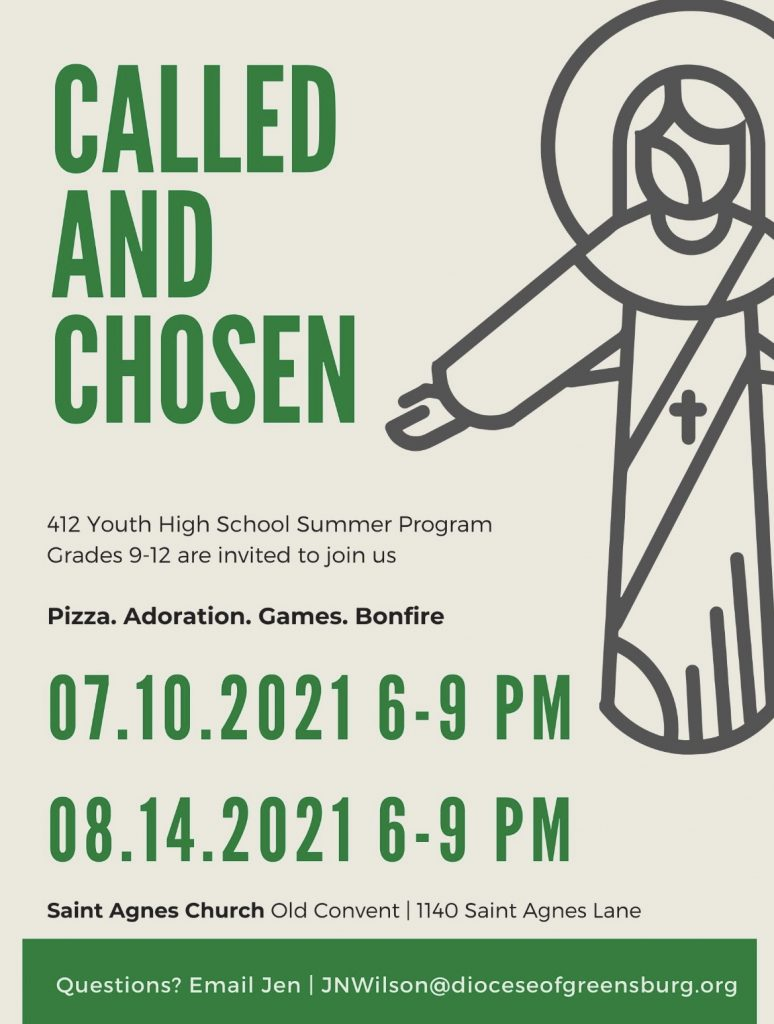Called and Chosen @ St. Agnes Church